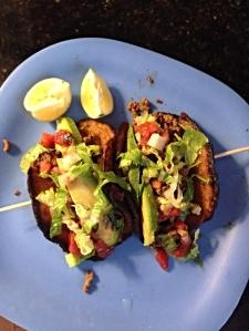 plantain taco shell tacos